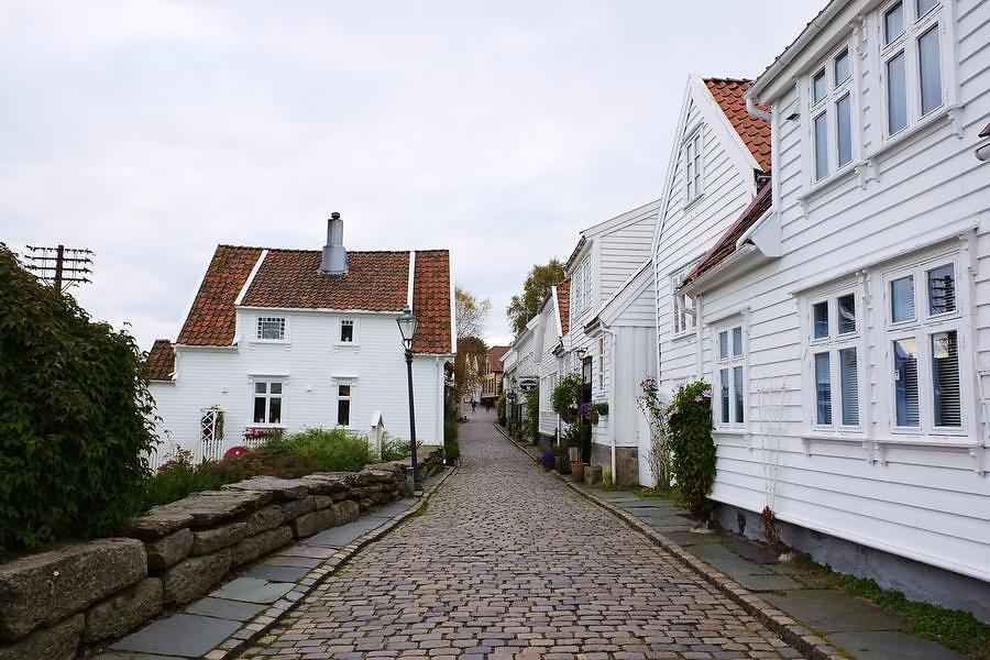 cobble stones in old Stavanger